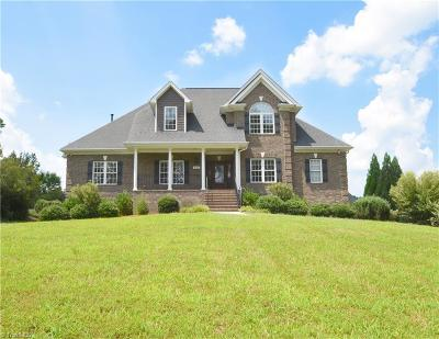 Winston Salem Single Family Home For Sale: 840 Meadowlands Drive