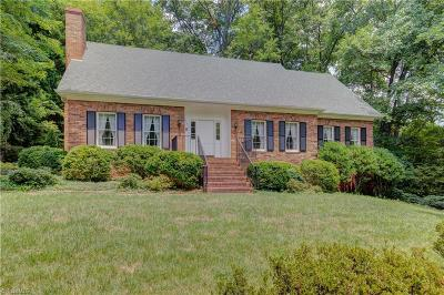 Single Family Home For Sale: 1747 Robinhood Road