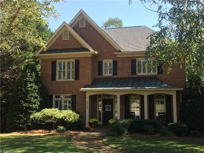 Winston Salem Single Family Home For Sale: 4345 Greenbrier Farm Road