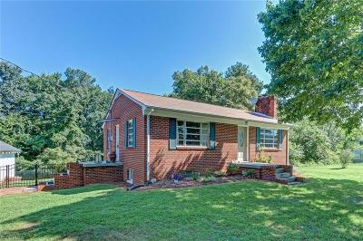 Reidsville Single Family Home For Sale: 253 Cherry Grove Road