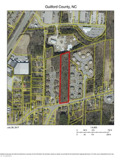 Guilford County Commercial Lots & Land For Sale: 2011 McKnight Mill Road