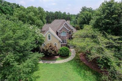 Winston Salem Single Family Home For Sale: 3866 Cedarfield Place Court