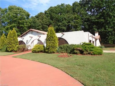 Reidsville Single Family Home For Sale: 1000 Sherwood Drive