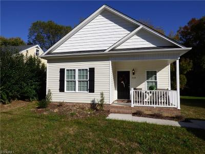 High Point Single Family Home For Sale: 1498 Willard Avenue