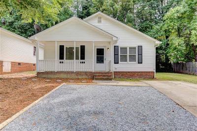 Greensboro NC Single Family Home For Sale: $79,900