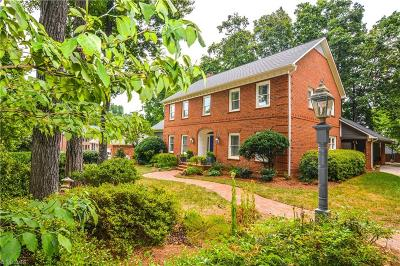 Greensboro Single Family Home For Sale: 7 Wedgewood Court