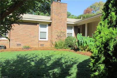 Greensboro NC Single Family Home For Sale: $170,000