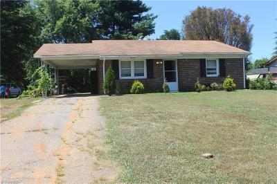 Reidsville Single Family Home For Sale: 1616 Withersea Lane