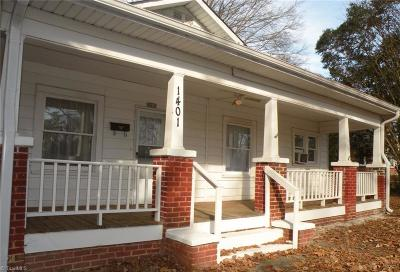 Winston Salem Single Family Home For Sale: 1401 Polo Road