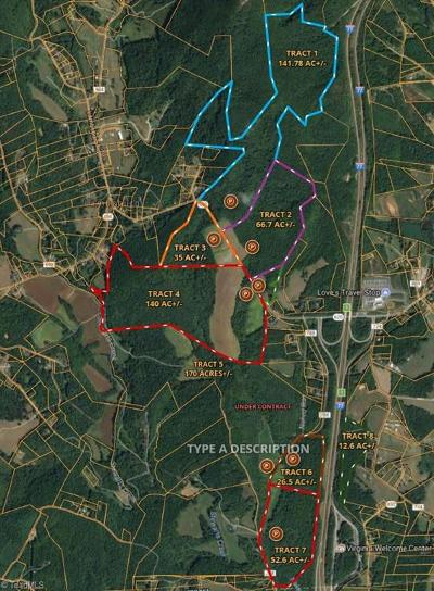 Lambsburg VA Residential Lots & Land For Sale: $1,782,834