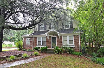 Single Family Home For Sale: 918 Melrose Street