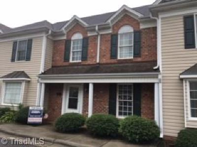 Kernersville Condo/Townhouse For Sale: 202 Salisbury Court