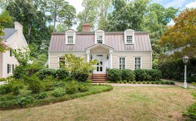 Greensboro Single Family Home For Sale: 512 Woodland Drive