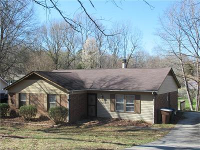 Greensboro Single Family Home Due Diligence Period: 4722 Pennoak Road