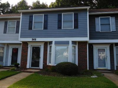 Greensboro Condo/Townhouse For Sale: 365 E Montcastle Drive #D
