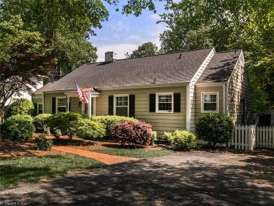 Greensboro Single Family Home For Sale: 1508 Colonial Avenue
