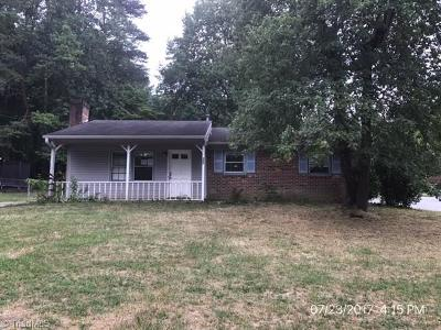 Guilford County Single Family Home For Sale: 800 Miriam Avenue