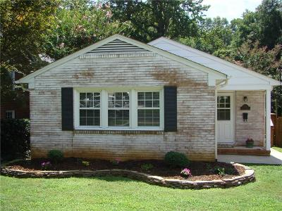 Greensboro Single Family Home For Sale: 2411 Walker Avenue