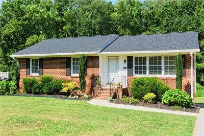 Greensboro Single Family Home For Sale: 400 Springtime Drive