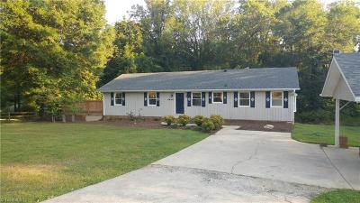 Single Family Home For Sale: 5445 Becks Church Road