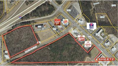 Mocksville NC Commercial Lots & Land For Sale: $2,988,331