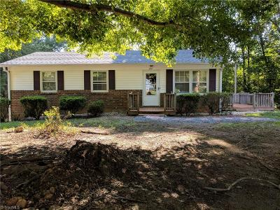 Mocksville Single Family Home For Sale: 127 Goodwill Heights Place