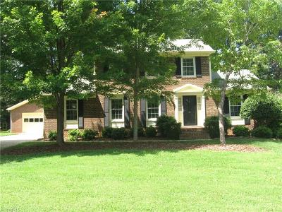 Greensboro Single Family Home For Sale: 10 Villastone Place
