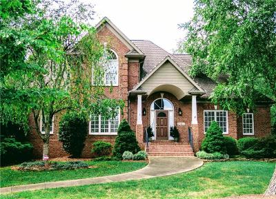 Winston Salem Single Family Home For Sale: 3745 Rosebriar Lane