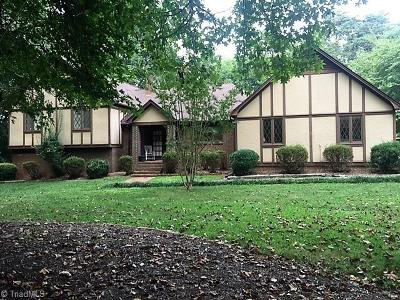 Rockingham County Single Family Home For Sale: 1250 Tellowee Road