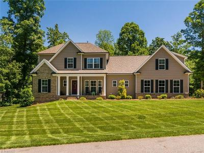 Rockingham County Single Family Home For Sale: 495 Hush Hickory Trace