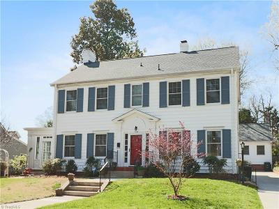 Greensboro Single Family Home For Sale: 1809 Madison Avenue