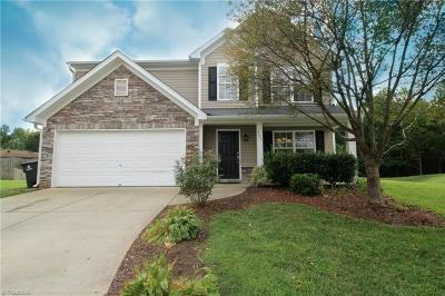 Winston Salem Single Family Home For Sale: 331 Water Lily Circle