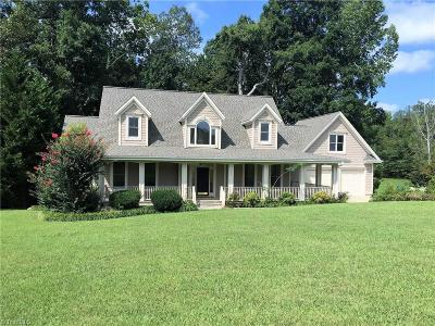 Greensboro Single Family Home For Sale: 444 Nc Highway 62