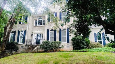 Greensboro Single Family Home For Sale: 4407 Innisbrook Court