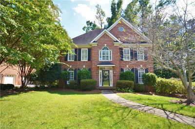 Winston Salem Single Family Home For Sale: 3712 Burbank Lane