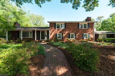 Winston Salem Single Family Home For Sale: 725 Pine Valley Road