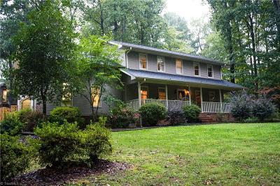 Gibsonville Single Family Home For Sale: 6707 Buck Springs Trail