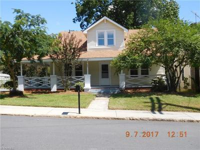 Reidsville NC Single Family Home For Sale: $59,900