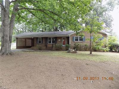 Reidsville Single Family Home For Sale: 408 Whip O Will Way