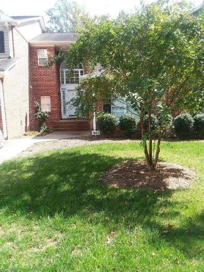 Clemmons Condo/Townhouse For Sale: 7650 Riverview Knoll Court