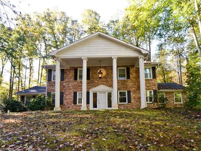 Winston Salem Single Family Home For Sale: 2616 Wessex Road