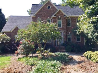 Winston Salem Single Family Home For Sale: 291 Mason Knoll Drive