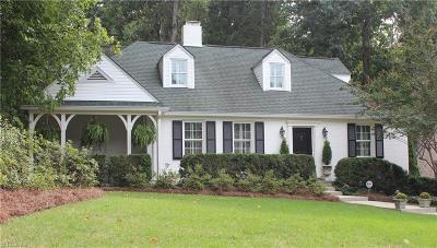 Winston Salem Single Family Home For Sale: 2516 Buena Vista Road