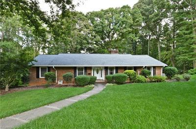 Winston Salem Single Family Home For Sale: 3120 Romany Court