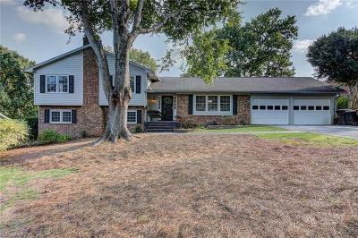 High Point Single Family Home For Sale: 1405 Fernwood Drive