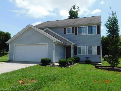 Browns Summit Single Family Home For Sale: 5706 Fisherman Drive