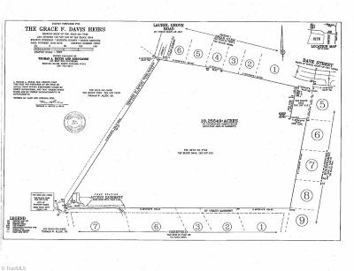 Winston Salem Residential Lots & Land For Sale: Claxton Drive