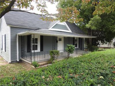 Winston Salem Single Family Home For Sale: 1232 Bretton Street