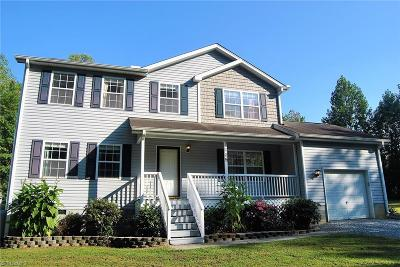 Guilford County Single Family Home For Sale: Robertson Robertson Road