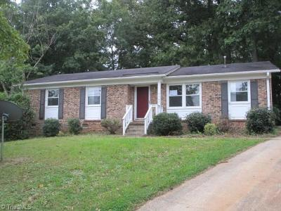 Greensboro Single Family Home For Sale: 1107 Kindley Court